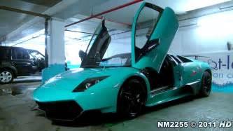 Turquoise Lamborghini Turquoise Lamborghini Murci 233 Lago Lp670 Sv Start Up Sound