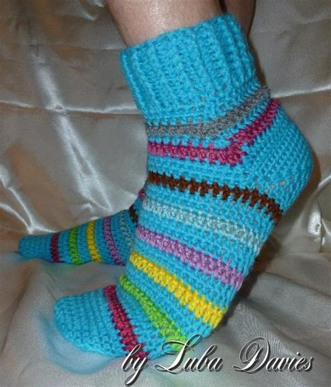 crochet pattern socks beginners afterthought heel men s socks by luba davies craftsy