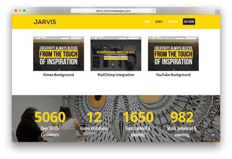 theme wordpress jarvis 20 best one page wordpress parallax themes collections 2017