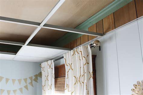 Update Drop Ceiling How To Easily Update An Drop Ceiling Robb Restyle