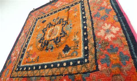 a 19th century tibetan meditation rug mat seat