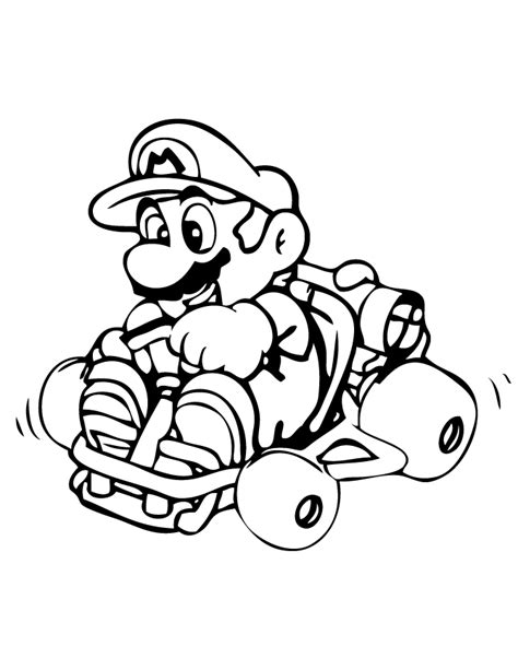 printable coloring pages mario mario kart coloring pages best coloring pages for kids