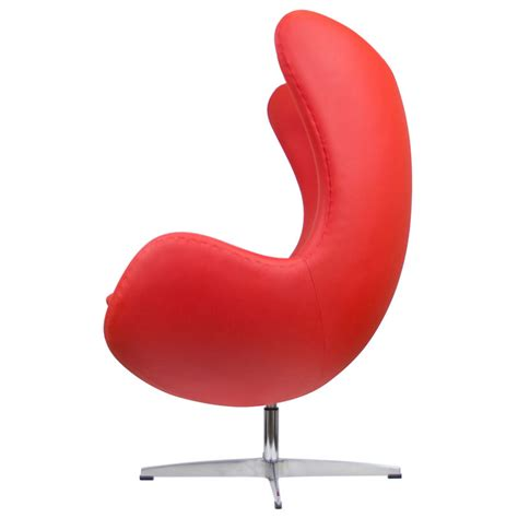 Modern Egg Chair by Ifn Modern Leather Egg Style Chair Various Colors Kt430