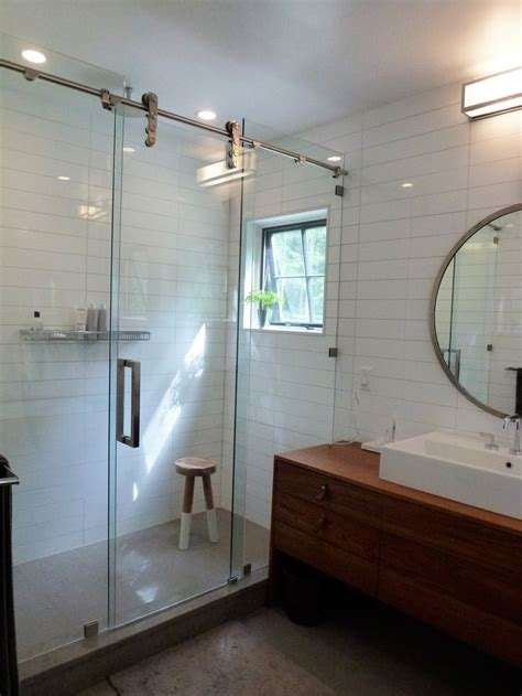 Shower Barn Door Best 25 Shower Door Hardware Ideas On Glass Shower Doors Shower Door And Shower Doors