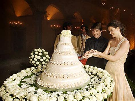 over the top celebrity wedding cakes | ewedding