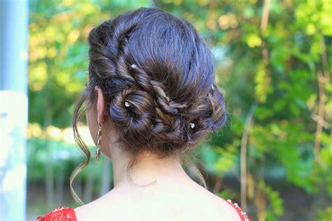 easter time avarde look hairstles rope twist updo homecoming hairstyles cute girls