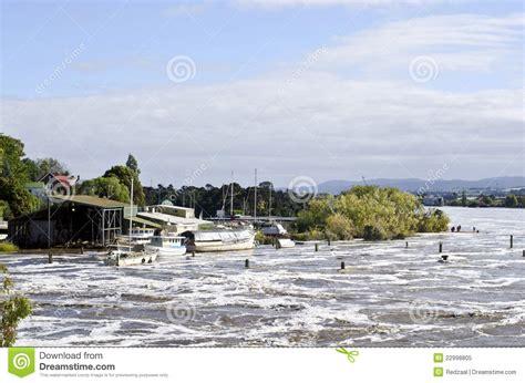 boat prices to tasmania boats in floodwater launceston tasmania royalty free