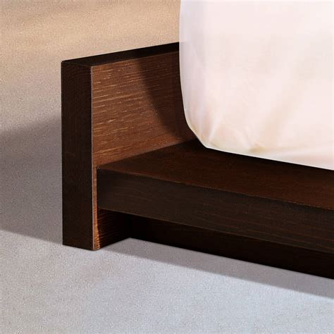 Modern Wooden Bed Frames Low Wooden Modern Bed Frame By Get Laid Beds Notonthehighstreet