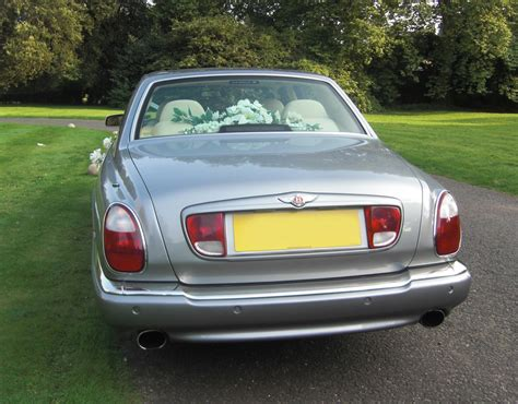 Wedding Car Back by Bentley Arnage Wedding Car Prestige Classic Wedding Cars