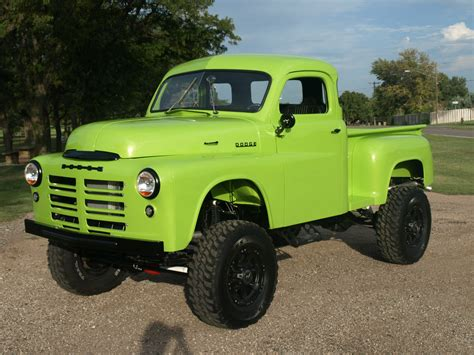 old dodge truck 4x4 gallery 1949 dodge pickup 4wd custom 4x4