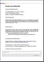 Unverlangtes Angebot Muster Gesch 228 Ftsbrief Englische Word Vorlage F 252 R Eine Absage Auf