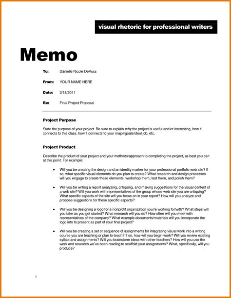 Memo Format Requirements 5 Memorandum Exles Assistant Cover Letter