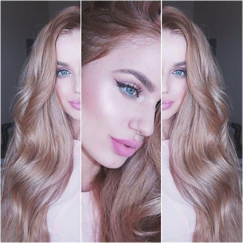 Bloude Dusty Pink hair dusty