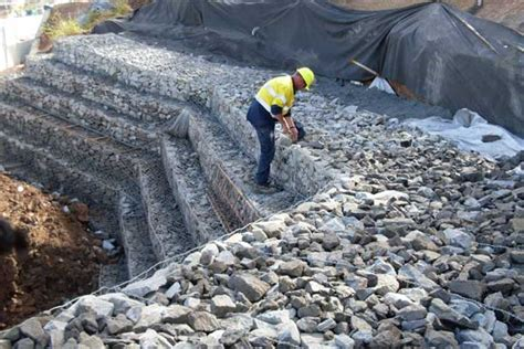 House Designers gabion drop structure centenary highway project concrib