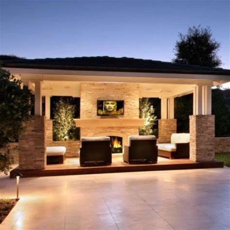 backyard entertainment outdoor entertainment area house ideas pinterest the