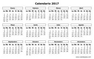Nicaragua Kalendar 2018 Calendario 2017