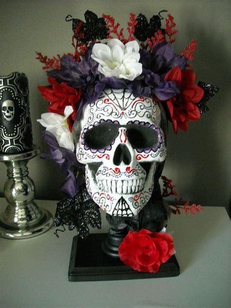 Skull Centerpiece on Etsy, $68.00   Meghan's Sweet 16