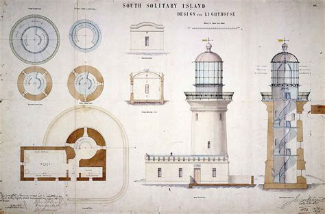 light house designs file south solitary island light design for lighthouse 1878 jpg wikimedia commons