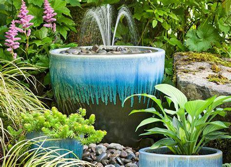 homemade planters diyfountain1 jpg 1434548993