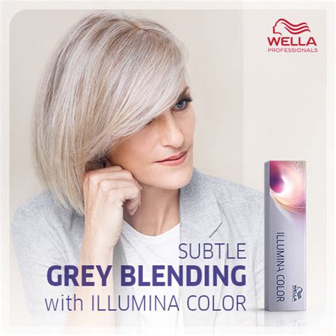 how to color hair to blend in gray medium dark brown hair with blending gray highlights photo