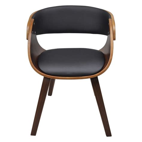 Dining Chair With Padded Bentwood Seat Www Vidaxl Ie Padded Dining Chair