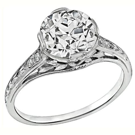 Amazing Engagement Rings by Amazing 2 05 Carat Platinum Engagement Ring For