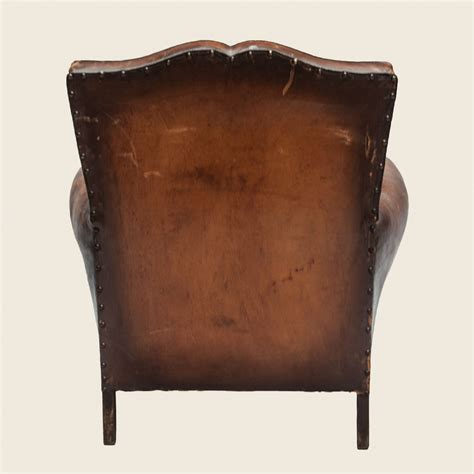 Club Armchair Leather by Vintage Moustache Leather Club Armchair Vintage Matters