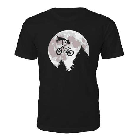 T Shirt Alie N On The Moon junkie mens moon t shirt black merchandise