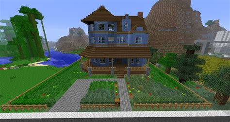 how to build a victorian house minecraft building victorian house in time lapse youtube