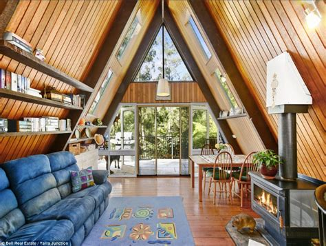 modern a frame homes take a trip back in time as we look inside australia s