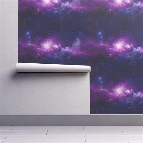 galaxy wallpaper roll galaxy party wallpaper maniac spoonflower