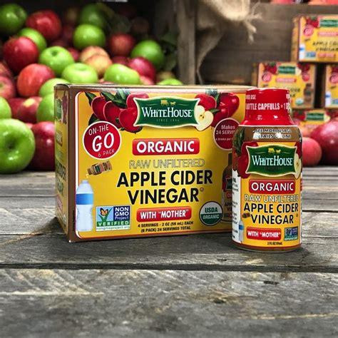 White House Detox Organic by White House Organic Apple Cider Vinegar On The Go