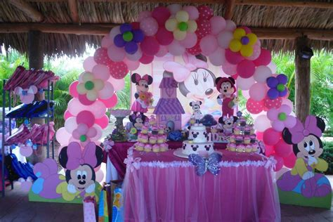 1st Birthday Decorations Minnie Mouse by Baby Minnie Mouse 1st Birthday Birthday Ideas