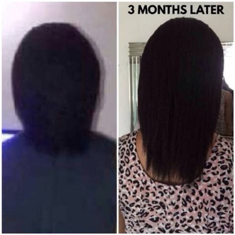3 Months Hair Growth   grow your hair in only 3 months here is how i did it