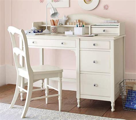juliette storage desk hutch white pottery