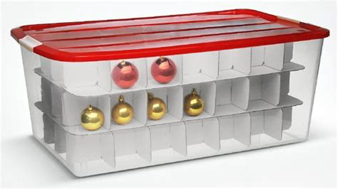 christmas bulb storage containers