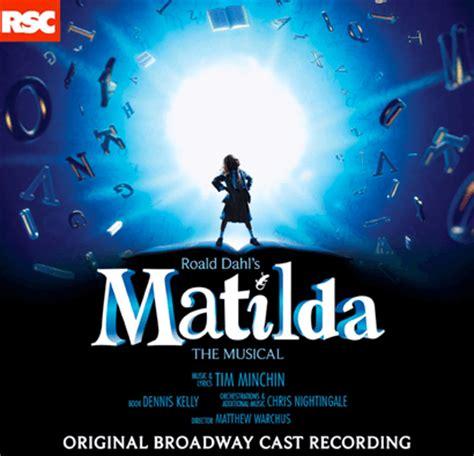 upcoming cast recordings playbill matilda the musical original broadway cast recording cd