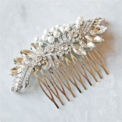 vintage wedding combs for hair vintage style wedding hair comb by highland