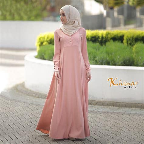 Baju Muslim Remaja Yang Modis 40 Gambar Desain Baju Muslim Remaja Paling Modis