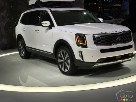 2020 Kia Telluride White by Kia Presents Big Telluride Suv At Detroit Show Car News