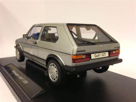 Welly Volkswagen Golf I Gti Silver welly schaal 1 18 volkswagen vw golf 1 gti zilver grijs catawiki