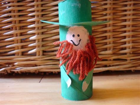 leprechaun toilet paper roll craft preschool crafts for st s day leprechaun