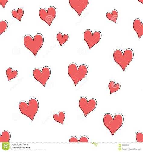 vector heart tutorial love heart pattern stock vector image 49863046