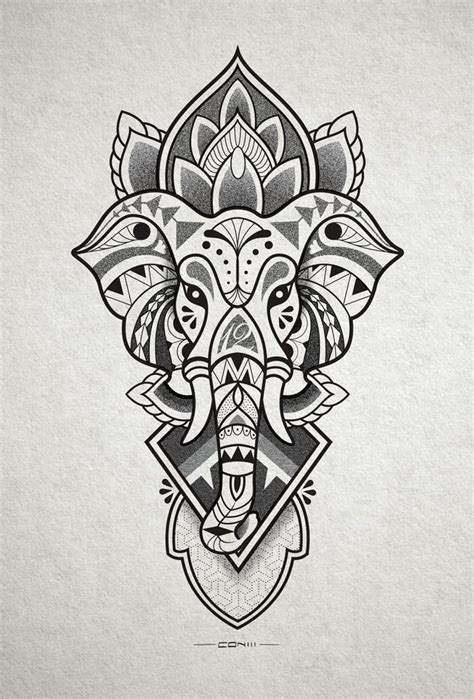 hindu elephant tattoo designs collection of 25 ganesh elephant design