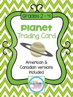 solar system trading cards template current events rubrics and events on
