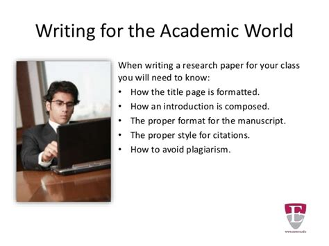 proper heading for a research paper proper format for a research paper title page