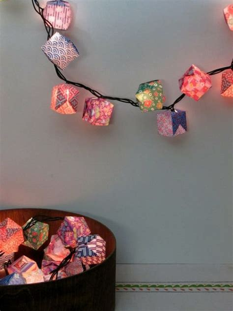 Paper Lantern Origami - 15 diy paper lanterns for projects home design