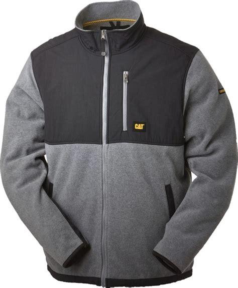 Jaket Caterpillar Zipper 1 caterpillar fleece jacket fit jacket