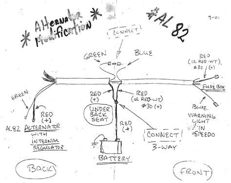 1968 vw beetle wiring diagram charging system wiring