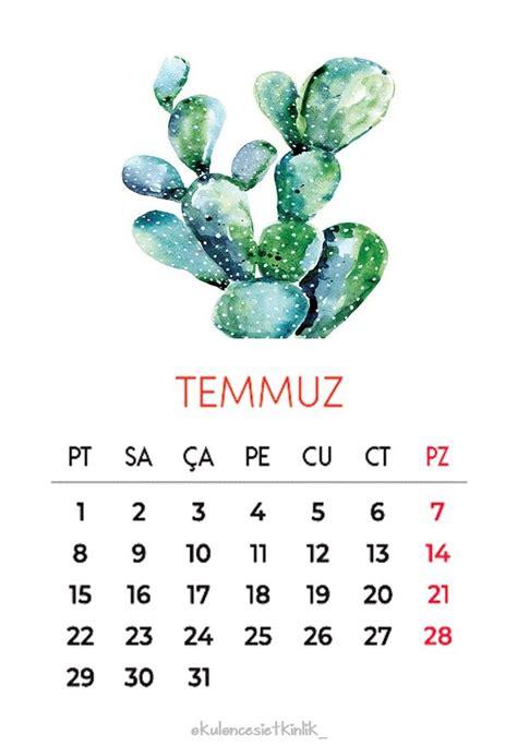 kaktues sueslemeli  takvimi haftalik planlayici